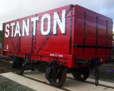 Stanton Timber Carriage - Rampart Engineering